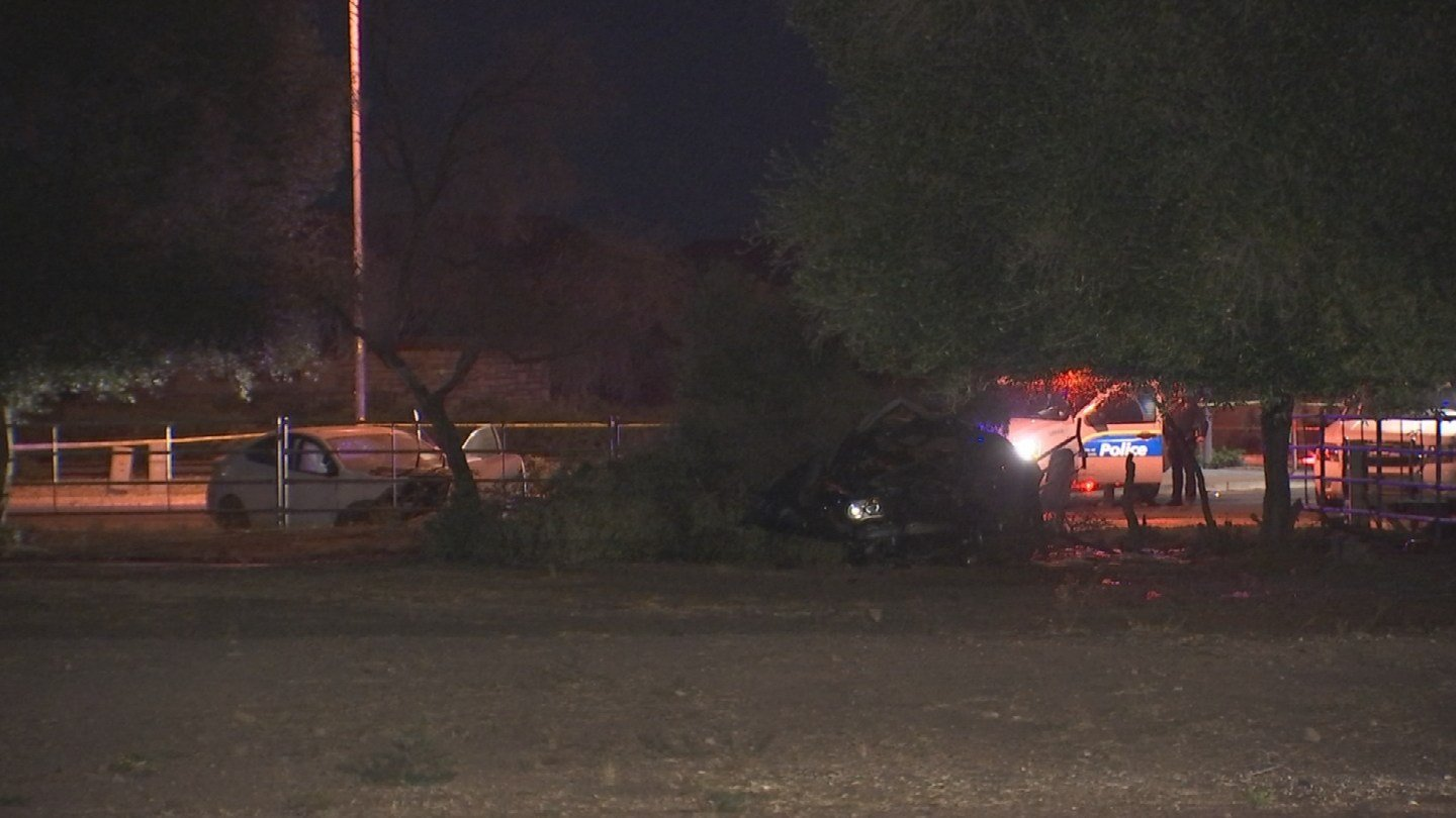 The woman driving the other vehicle was sent to the hospital and is in stable condition. (Source: 3TV/CBS 5)