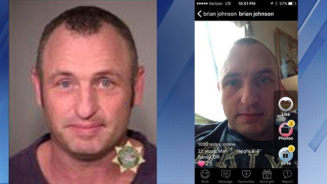 "PCSO said Larry Lewis Hudson used screen names like ""hottgu"" and ""Brian Johnson"" on social media apps to lure girls. (Source: Pinal County Sheriff's Office)"