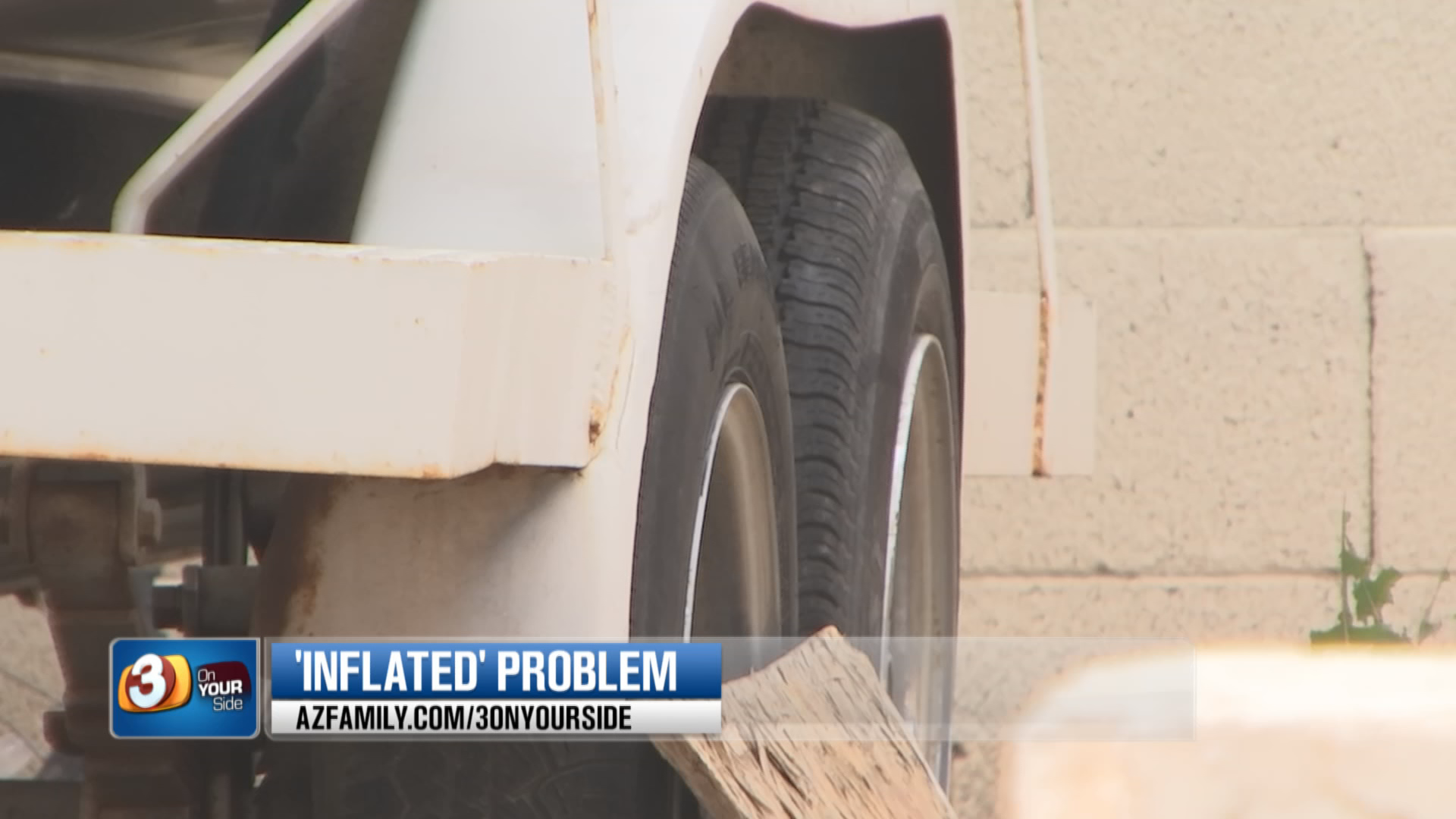 And if your RV or trailer has been idle, AAA says don't forget to check the tires on those as well. (Source: 3TV/CBS 5)