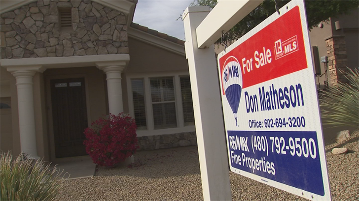 The Valley housing market isn't as friendly to first-time home buyers as it used to be. (Source: 3TV/CBS 5)