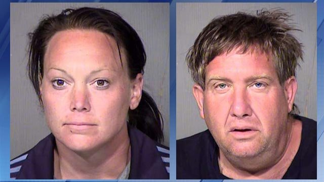 Sarah H. Stasium, 32, and Michael Winefsky, 46 (Source: Maricopa County Sheriff's Office)