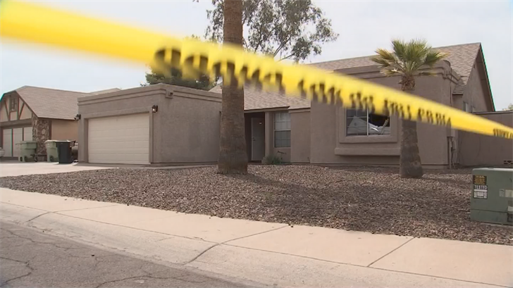 Police have identified the two people who were found dead during a police search of a house. (Source: 3TV/CBS 5)