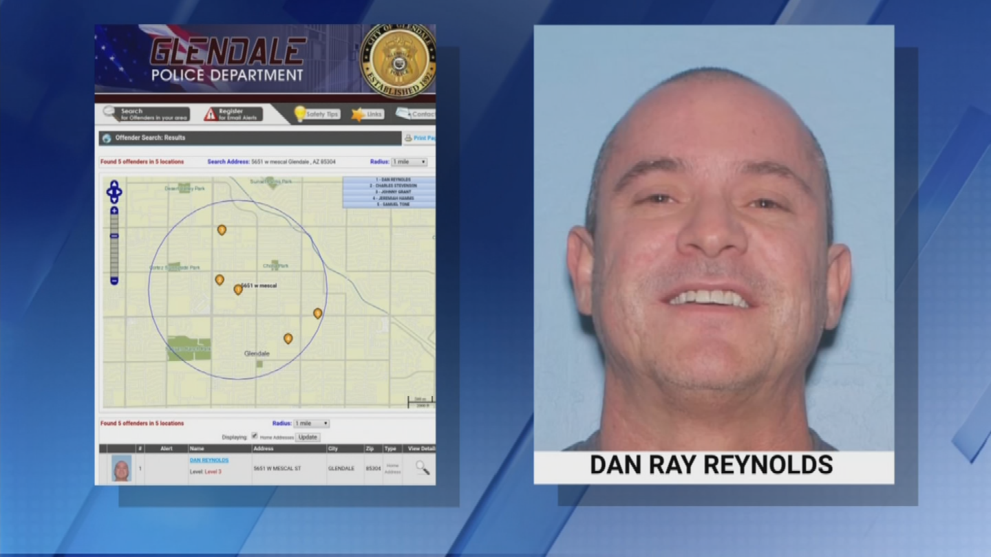 According to neighbors, Dan Reynolds was a level-three sex offender and had lived at the home for about the last five years. (Source: 3TV/CBS 5)