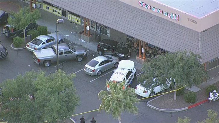 Phoenix police officers were involved in a shooting. (Source: 3TV/CBS 5)