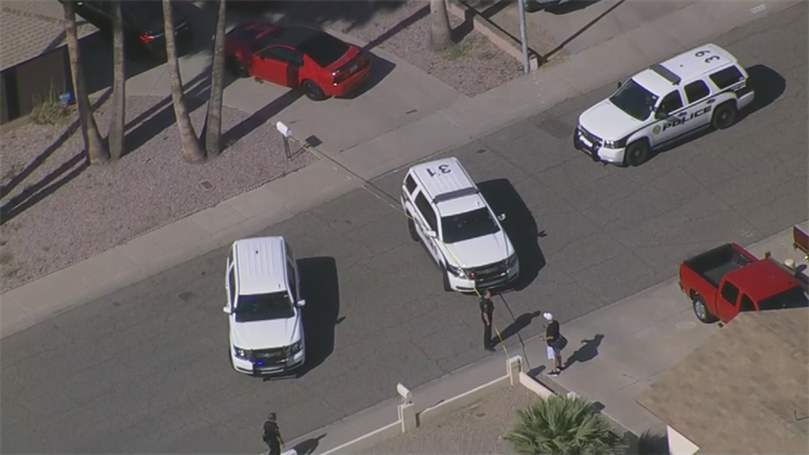 A teen was shot in Glendale and the suspect is still on the run. (Source: 3TV/CBS 5)