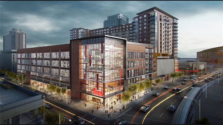 In addition to the new Fry's, the Block 23 project will include 330 new apartments, 200,000 square feet of office space, restaurant and retail spaceand above and below ground parking. (Source: 3TV/CBS 5)