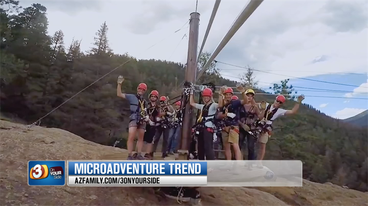 A microadventure is a travel trend that is popular, especially among millennials. (Source: 3TV/CBS 5)