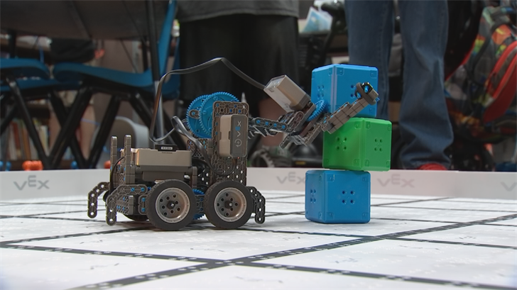 The money to pay for robotics  from the extra teacher pay to the $400 robotic kits  comes from the federal 21st Century Community Centers Learning Program. (Source: 3TV/CBS 5)