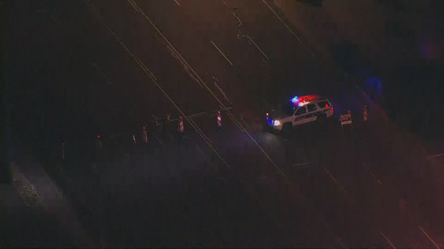 Police said a driver hit a man near Cave Creek Road and Bell Road and then took off. (Source: 3TV/CBS 5)