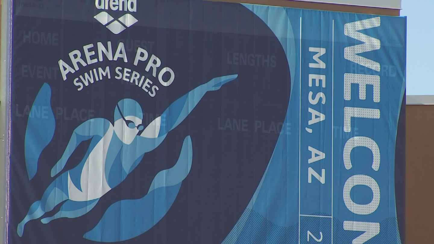 The meet kicked off Thursday and runs through Saturday. (Source: 3TV/CBS 5)