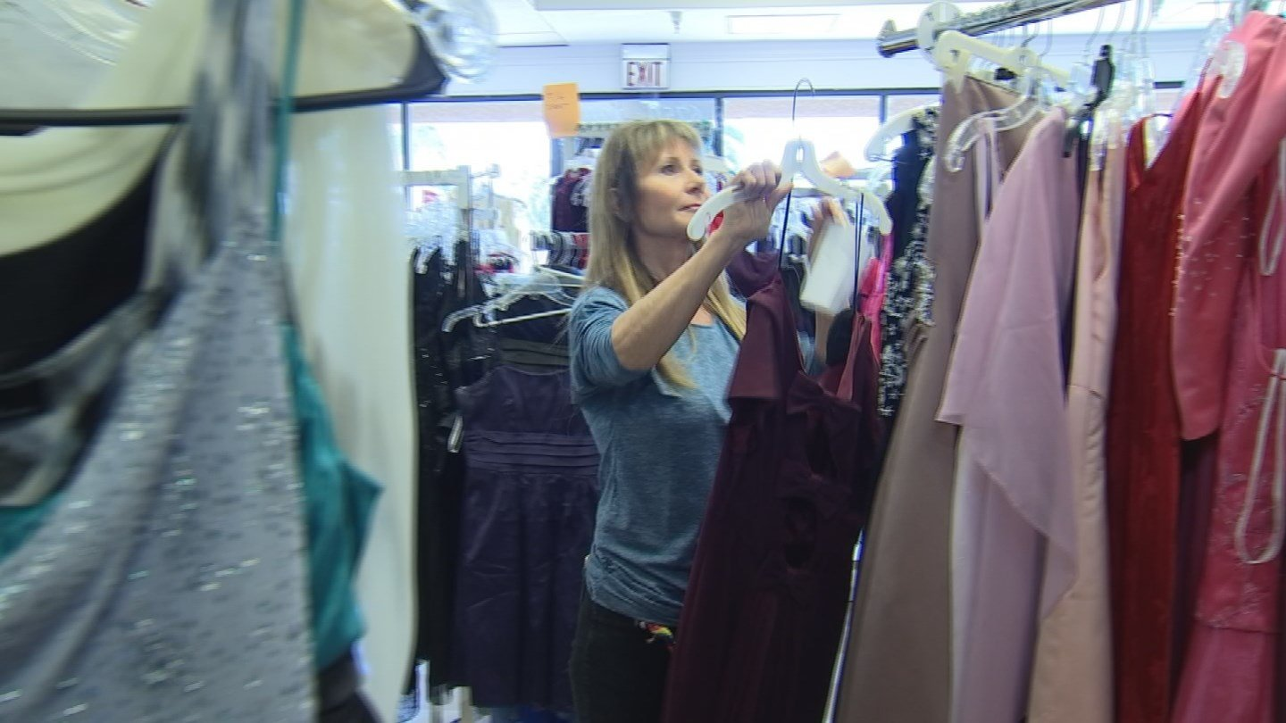 Mary Ann Baker, founder of My Girlfriend's Closet, an organization that donates prom dresses every prom season. (Source: 3TV/CBS 5)