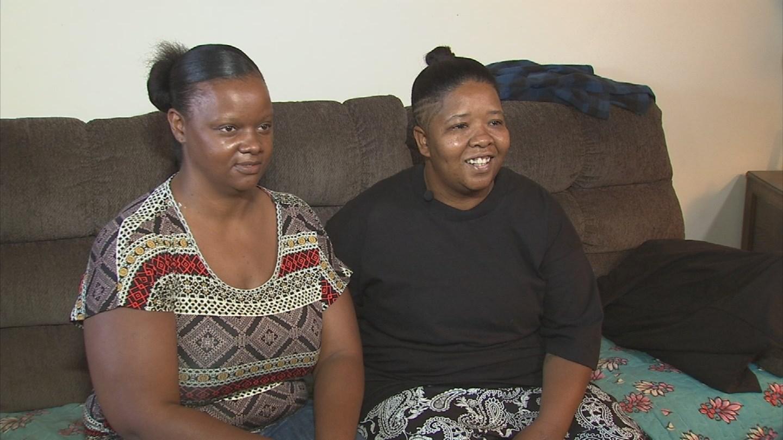 Serena and Latisha Rich won their case against their landlord. (Source: 3TV/CBS 5)