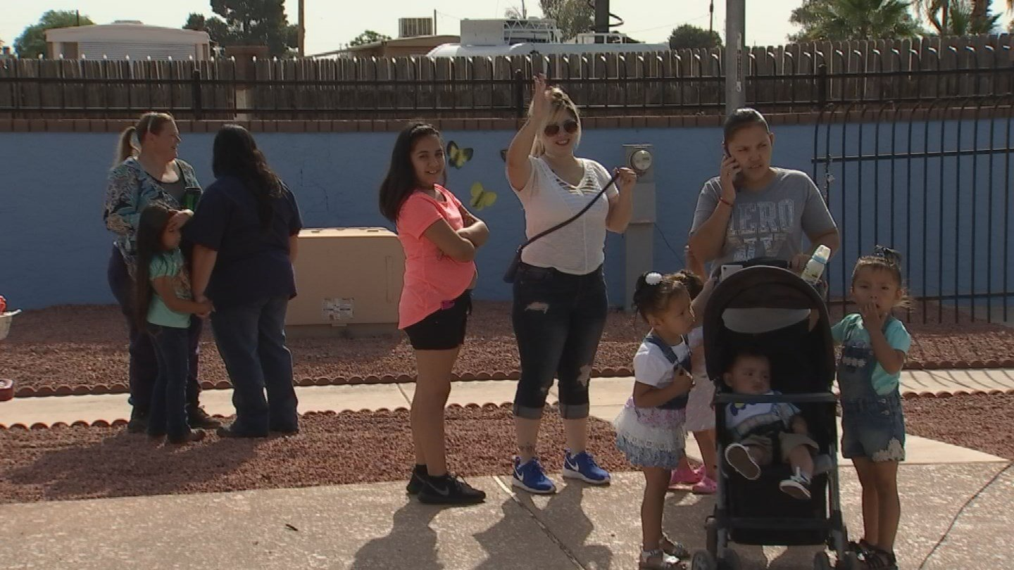 Families enjoy Easter festivities put on by Together We Grow, a local non-profit organization. (Source: 3TV/CBS 5)