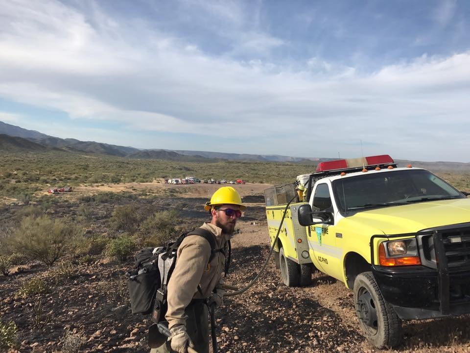 Crews with the Phoenix Fire Department and the Daisy Mountain Fire Department are on the scene. (Source: Daisy Mountain Fire Department)