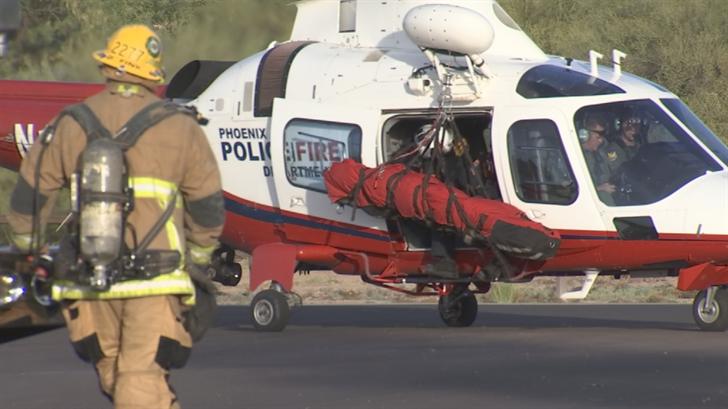 Investigators said the victim fell about 100 feet. (Source: 3TV/CBS 5)