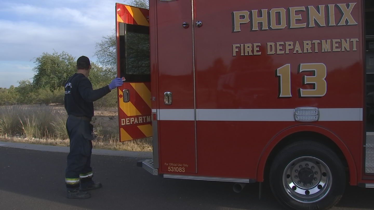 He was hiking with his sister off the main trail when he fell. (Source: 3TV/CBS 5)
