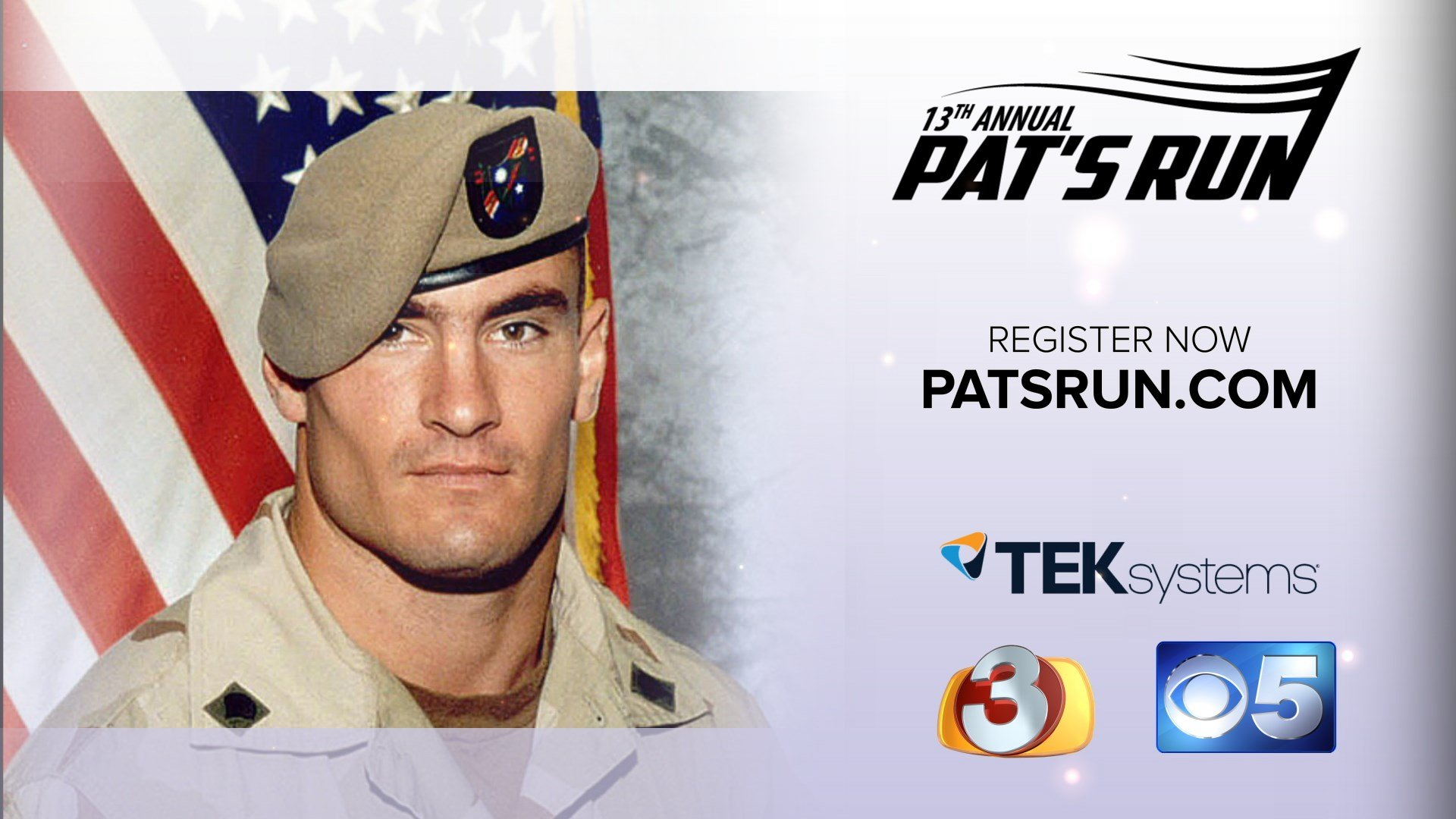 The 13th Annual Pat's Run is Saturday, April 21. (Source: 3TV/CBS 5)