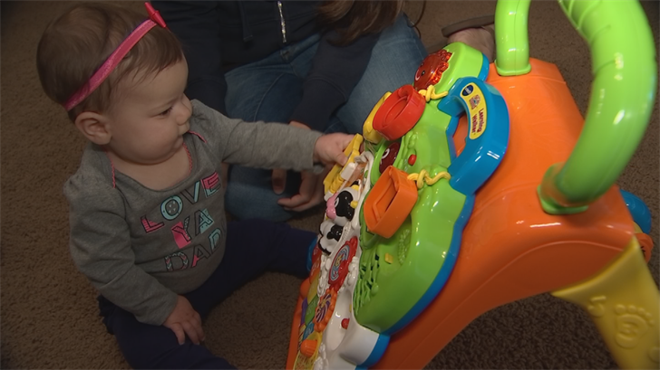 6-month-old Lilly was stung by a scorpion and that prompted her mother to called a company. (Source: 3TV/CBS 5)