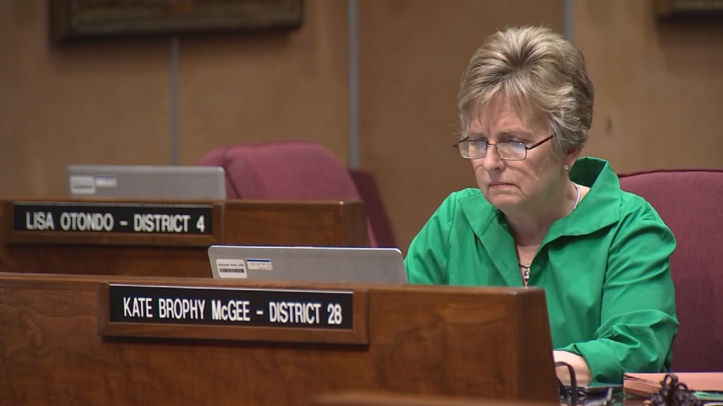 She voted against the bill making all one million Arizona school kids eligible to use tax money to attend private schools. (Source: 3TV/CBS 5)