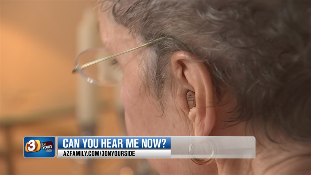 Beverley Evans had trouble getting her money back after being unsatisfied with her hearing aids. (Source: 3TV/CBS 5)