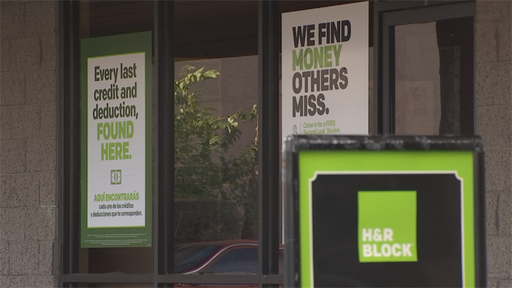 The company claims the price is about 40 percent less than typical brick-and-mortar tax prep stores. (Source: 3TV/CBS 5)
