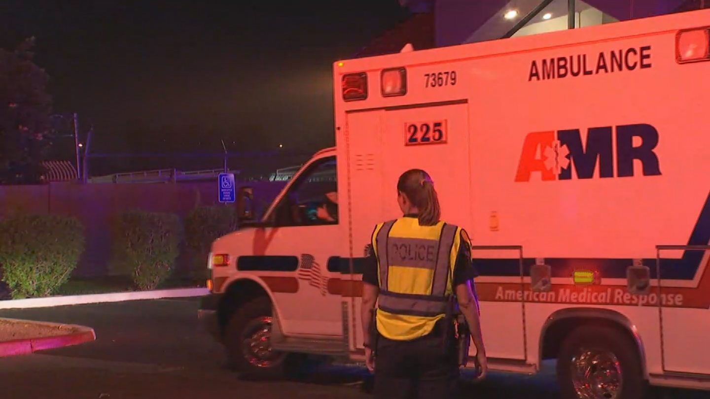 The victims were taken to the hospital. (Source: 3TV/CBS 5)