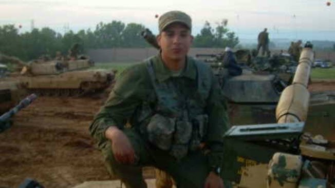 Lopez joined the Army and coordinated more than 300 combat missions with Iraqi and Kurdish forces as a leader of a tank platoon. (Source: 3TV/CBS 5)