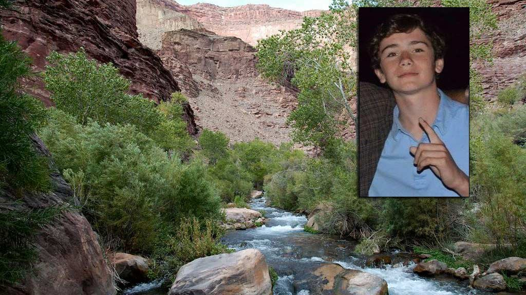 Jackson Standefer, 14, and Lou-Ann Merrell, 62, were swept down Tapeats Creek while hiking in the Grand Canyon. (Source: Bob Ribokas via Kaibab.org,  WDEF and 3TV/CBS 5)