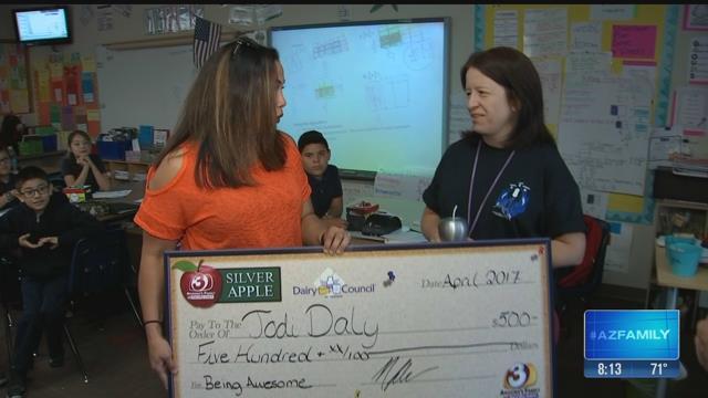 Jodi Daly, Desert Horizon Teacher
