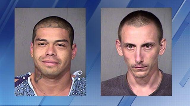 Left: Rafael Contreras, 26, Cory Christensen, 22(Source: Maricopa County Sheriff's Office)