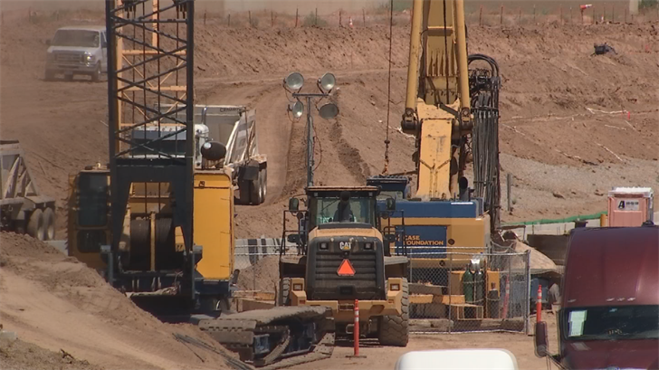 The 22-mile South Mountain Freeway project will bridge the west Valley to the East Valley. (Source: 3TV/CBS 5)