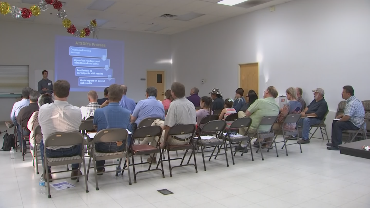 Officials explained the results of the findings to dozens of Hayden residents. (Source: 3TV/CBS 5)