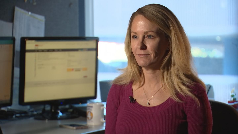 Karen Gallagher is working on her doctorate to help her fellow veterans. (Source: 3TV/CBS 5)