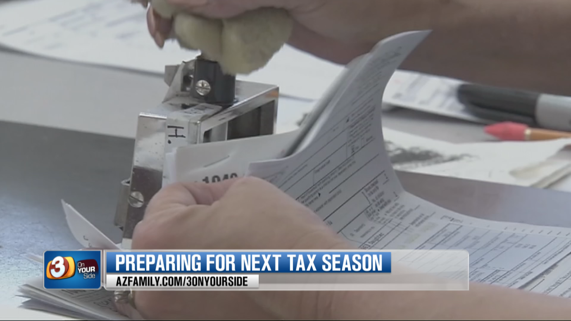 A Valley financial coach says now is the time to think about taxes for next year. (Source: 3TV/CBS 5)