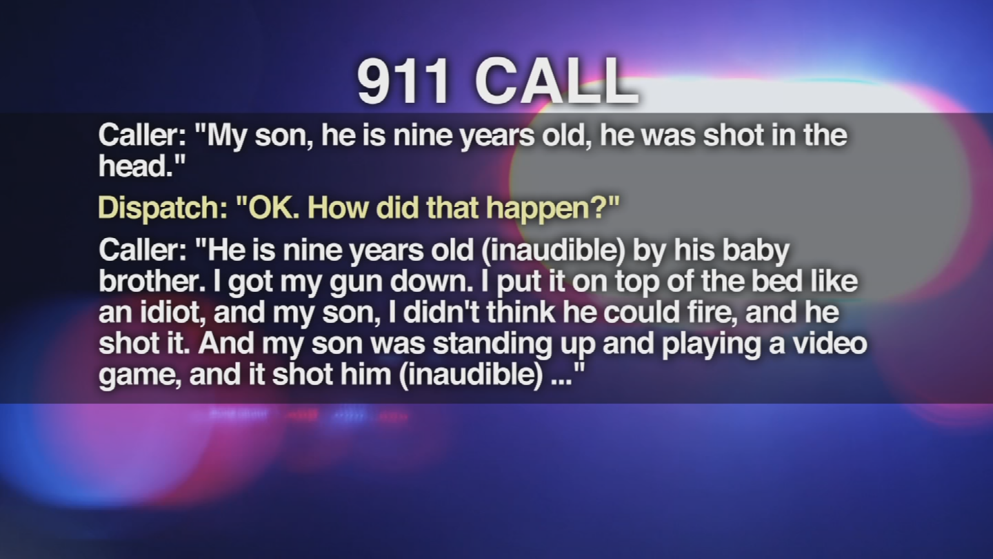 The 911 in the shooting of a 9-year-old boy was released. (Source: 3TV/CBS 5)