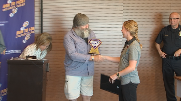 Perry Harris thanked those who helped save his life last month. (Source: 3TV/CBS 5)