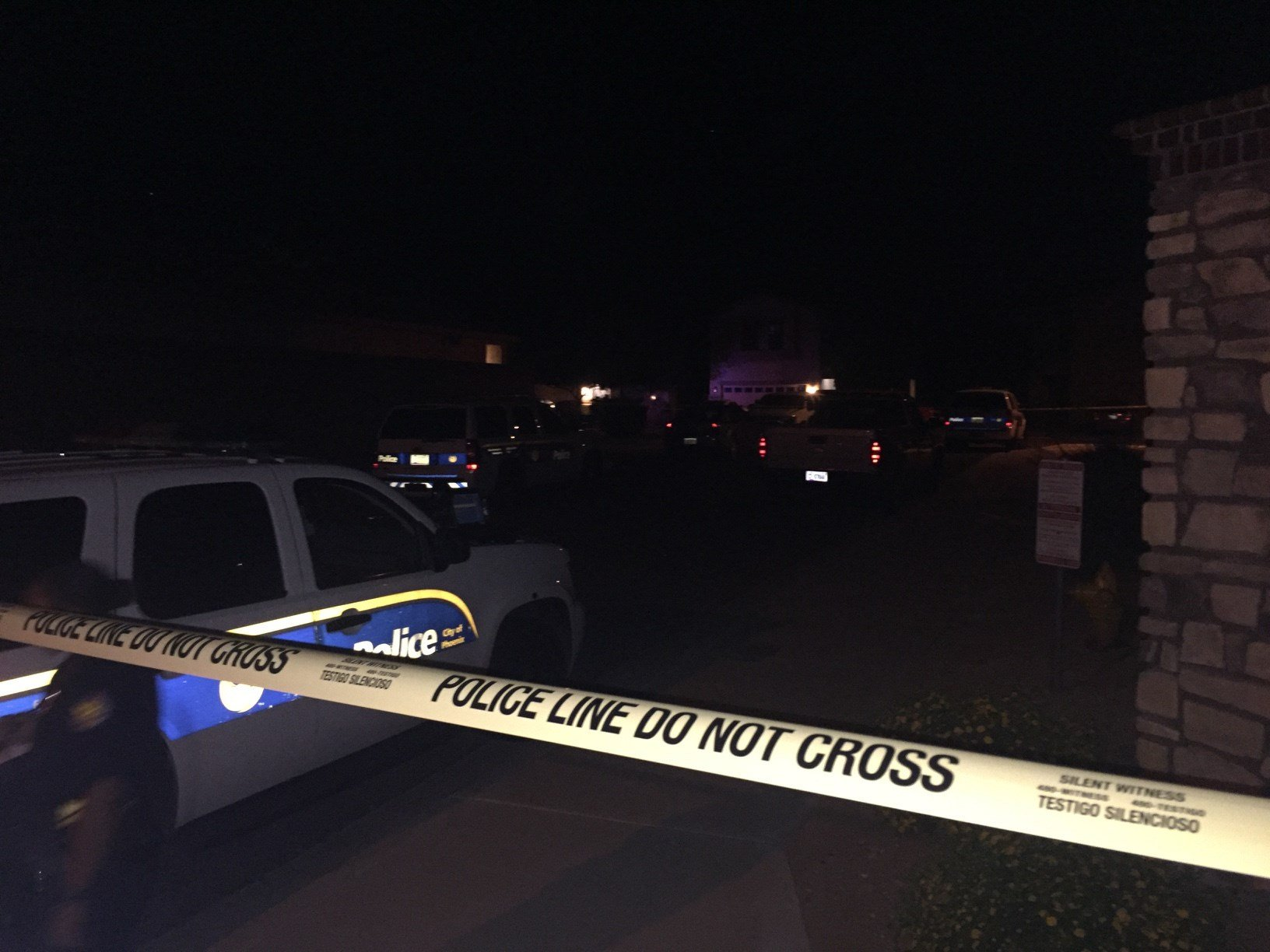 A suspect was shot after he refused to drop a kitchen knife, police said. (Source: 3TV/CBS 5)