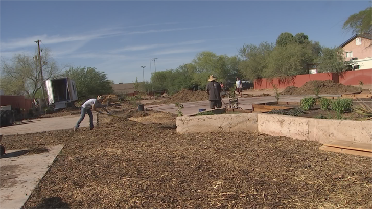 Pueblo Viejo Fields is in south Phoenix and adults with special needs learn life skills. (Source: 3TV/CBS 5)