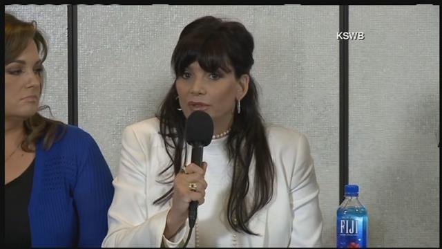 Dina Shacknai spoke at Thursday's new conference. (Source: 3TV/CBS 5)