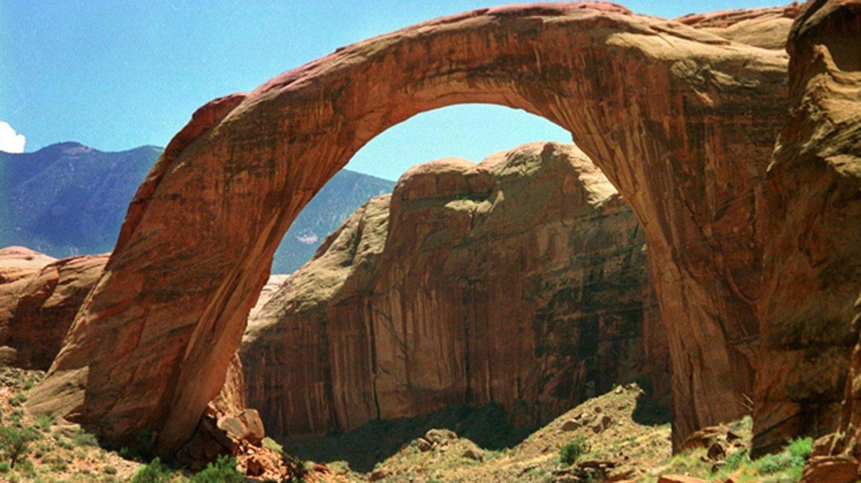 File photo of Rainbow Bridge (Source: Associated Press)