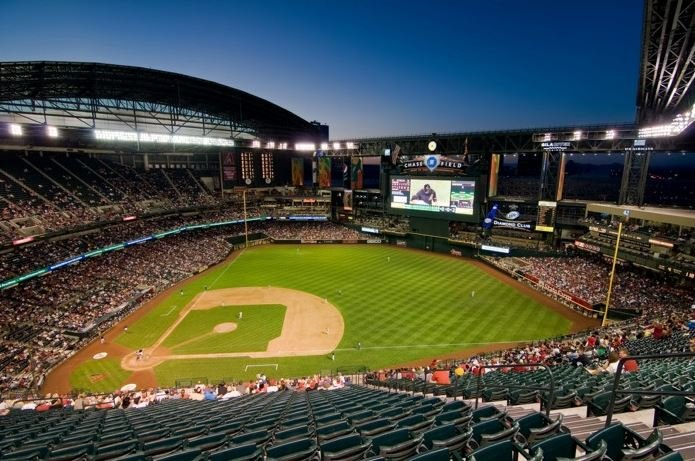 Chase Field is known as a hitters' ballpark, with more homers hit there last year than anywhere else in the league. (Source: 3TV/CBS 5)