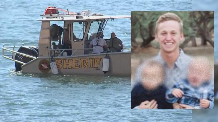 Lake Patrol deputies recovered Joshua Slade's body early Monday morning. (Source: GoFundMe and 3TV/CBS 5)
