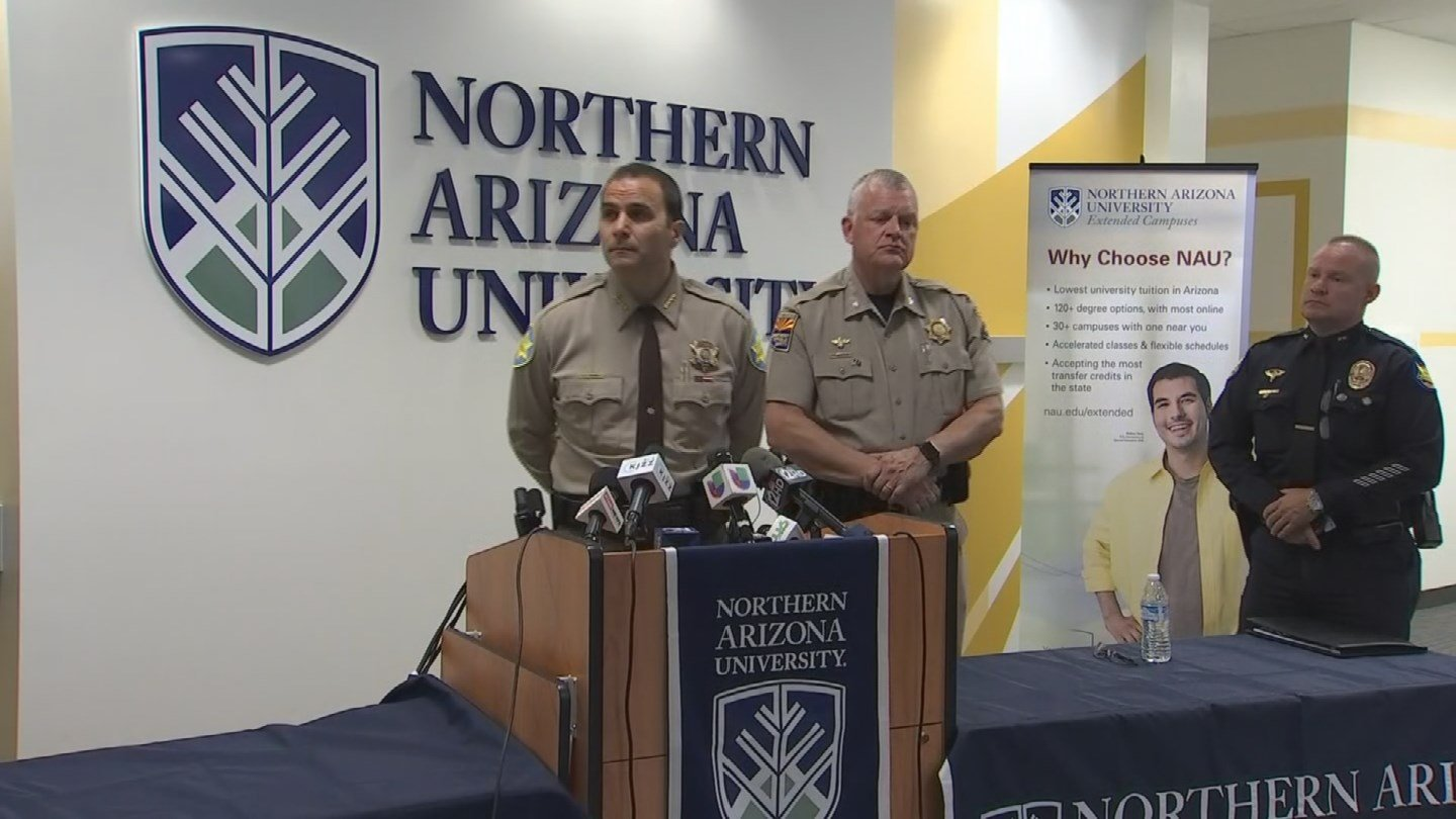 Local law enforcement leaders spoke about their shortage of employees. (Source 3TV/CBS 5)