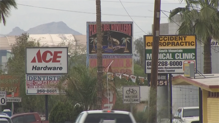 To cut down on the concerns for businesses, city officials are being proactive and engaged with businesses down Central Avenue. (Source: 3TV/CBS 5)