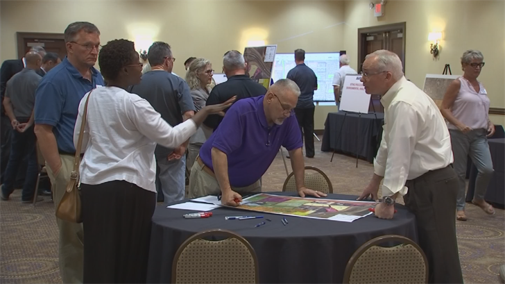 SRP held another open house Tuesdayto listen to neighbors' ideas. They'll meet again in May. (Source: 3TV/CBS 5)
