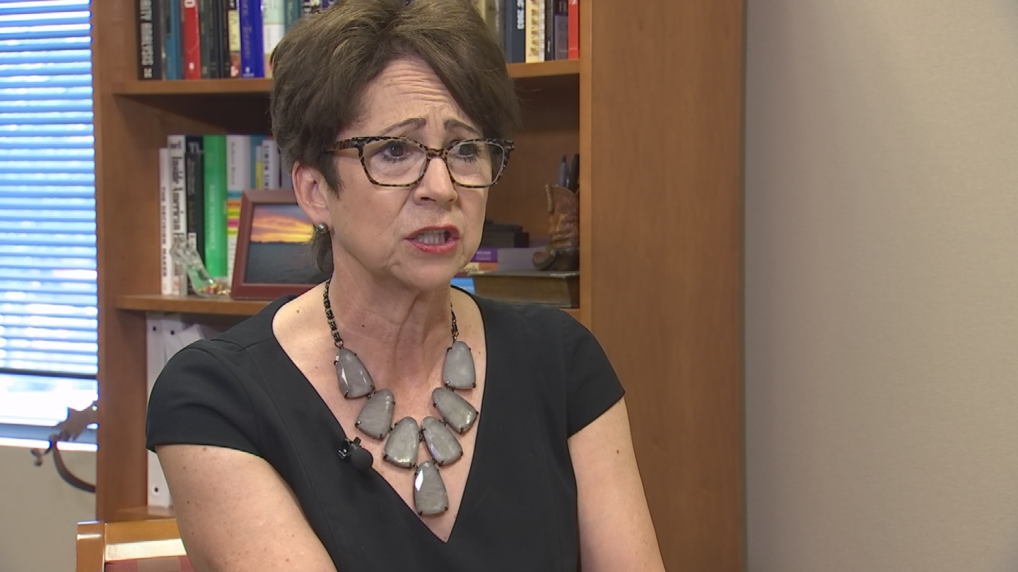 Nancy Tengler, chief investment officer for Heartland Financial, said the tax plan will create jobs. (Source: 3TV/CBS 5)