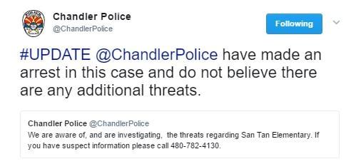 (Source: Chandler Police Department via Twitter)