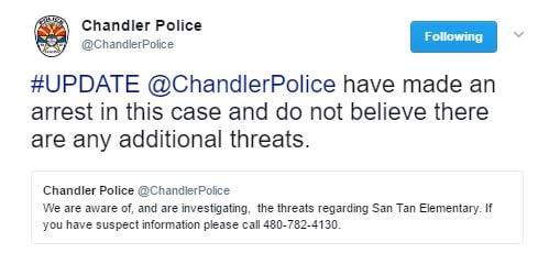 (Source: Chandler Police Department via Twitter)