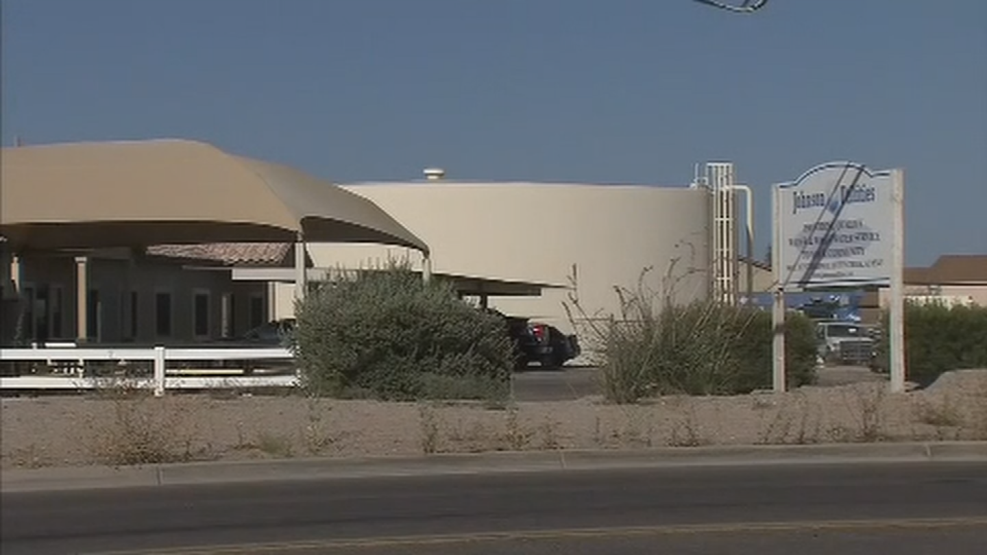 The Arizona Department of Environmental Quality tested the water and letJohnsonUtilities know their nitrate levels were too high. (Source: 3TV/CBS 5)