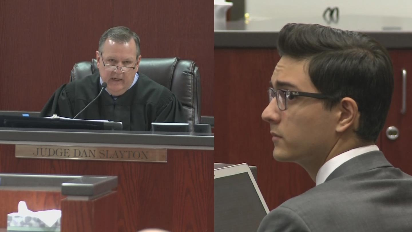 Judge Dan Slayton and NAU shooting suspect Steven Jones (Source: 3TV/CBS 5)